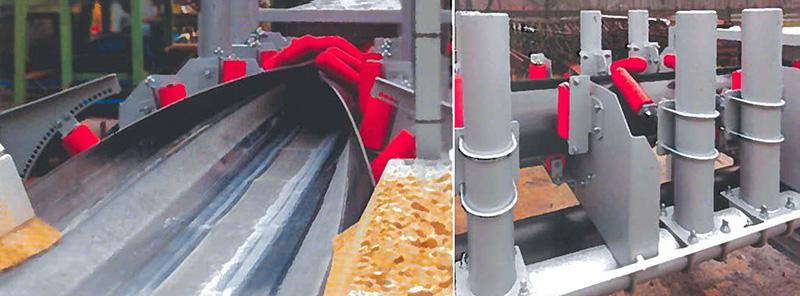 ленточные конвейеры трубчатые