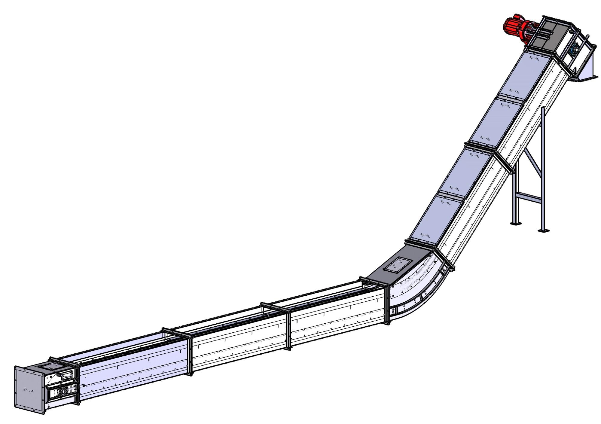 Основные узлы скребкового конвейера вакансии тиссенкрупп элеватор москва